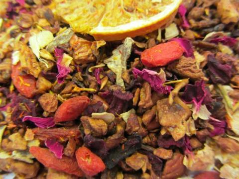Gojibeere Blutorange Tee