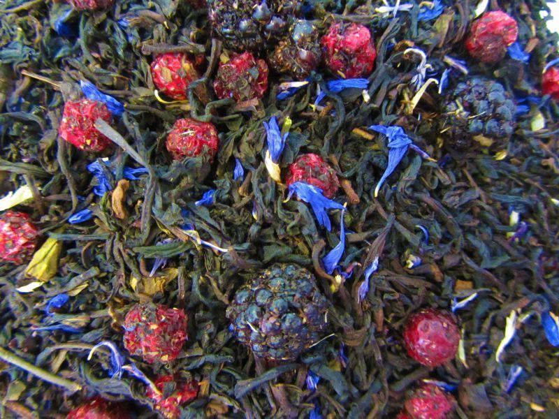 Brombeer Schwarzer Tee